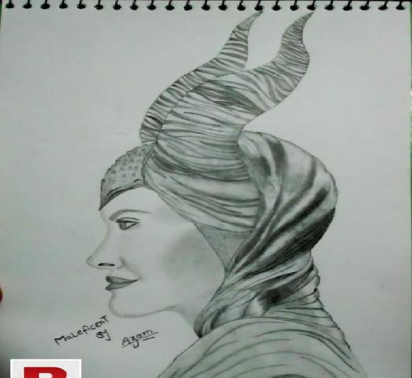 I will sketch your picture on order