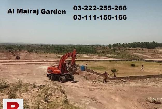 Al mairaj garden 5 marla plot fir sale on installments
