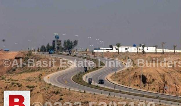 Commercial plot for sale rose block dha valley islamabad