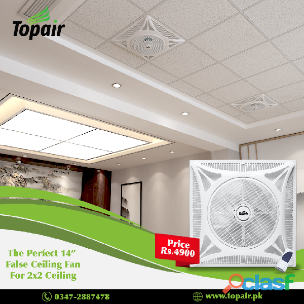 False ceiling fans in islamabad
