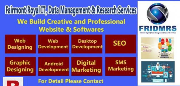 Professional web development services in islamabad