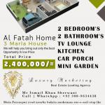 3 marla house easy installment payment plan offered, lahore