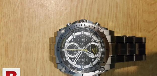 Bulova 47mm precisionist stainless steel chronograph watch