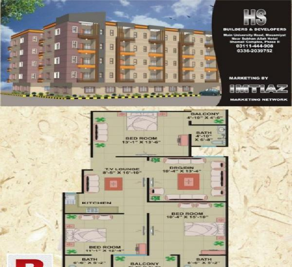 Brand new luxury flats / appartments in shamail complex