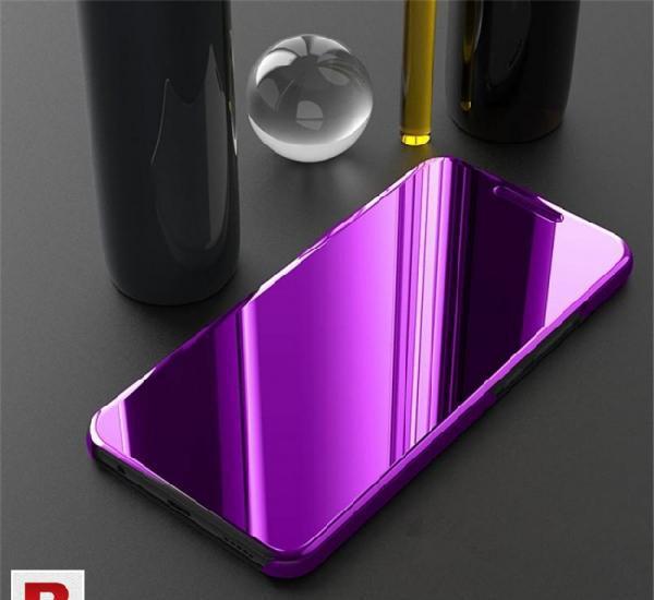 Mirror flip case for honor 8x