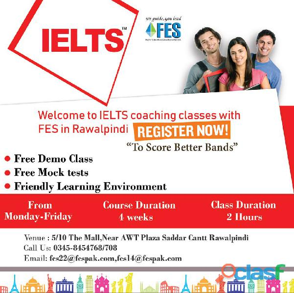 Ielts with fes higher education consultants pvt ltd