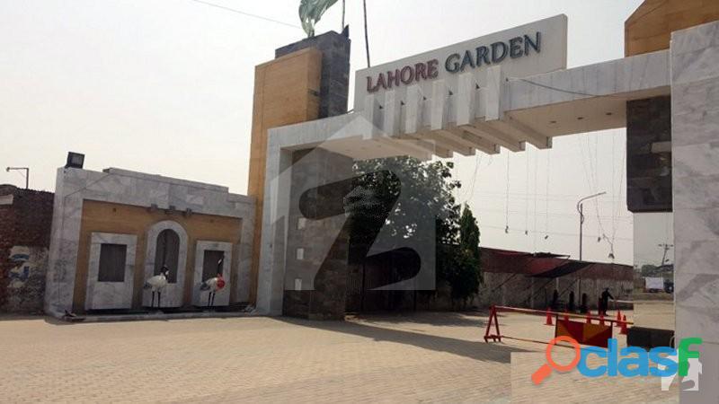Lahore garden 3 marla plots