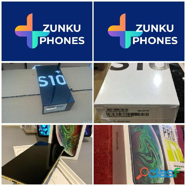 New iphone xs/samsung s10+ plus 5g cash on delivery $550