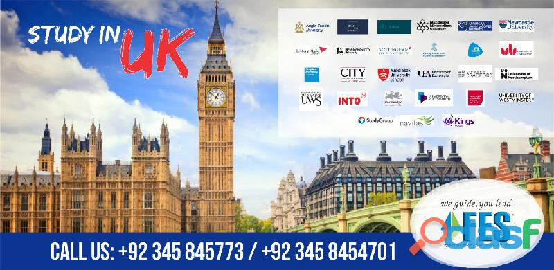 Study Abroad With FES Higher Education Consultants Pvt Ltd Pakistan.