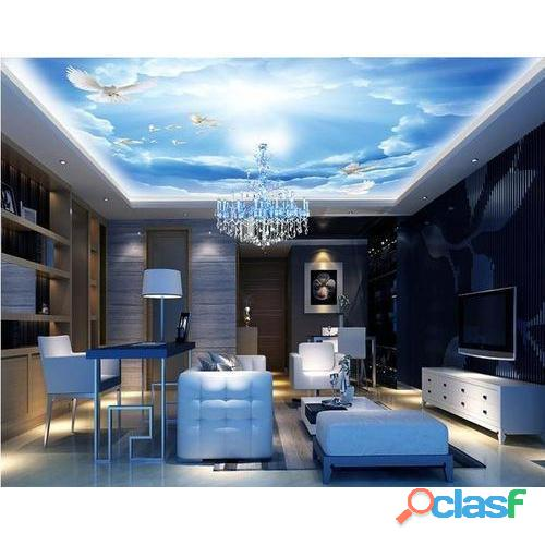 3d wallpaper ceiling & flooring