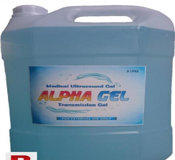 Alpha gel (ultrasound transmission gel)