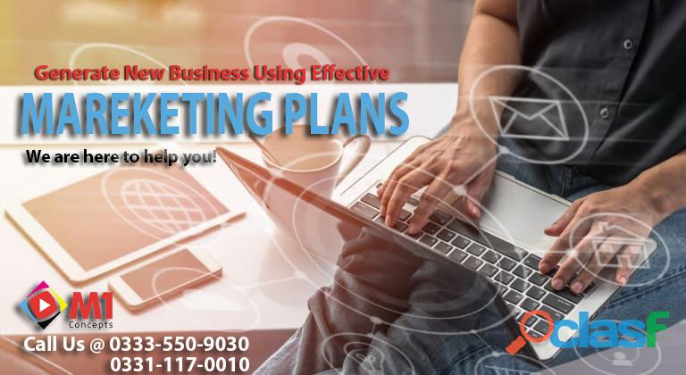 Marketing services and plans