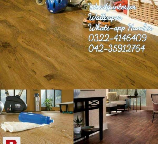 Vinyl wooden floor, vinyl tiles flooring in lahore