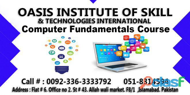 Computer fundamentals course in islamabad