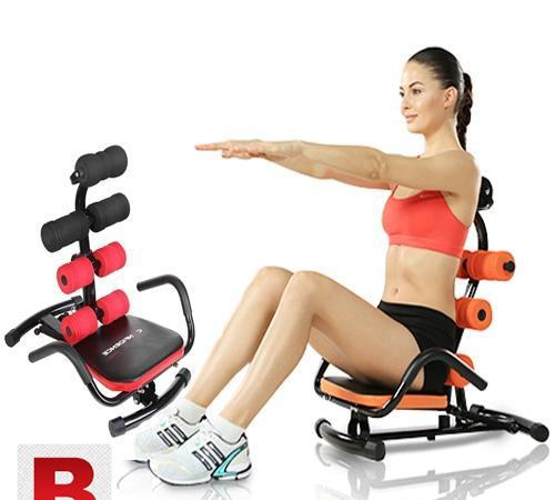 Ab zone flex exercise machine