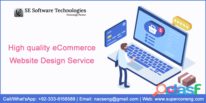 High quality eCommerce Website Design Service