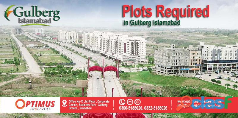 Sale/purchase in gulberg islamabad