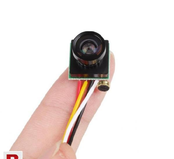 Mini camera 120 degree wide angle lens 600tvl color mini