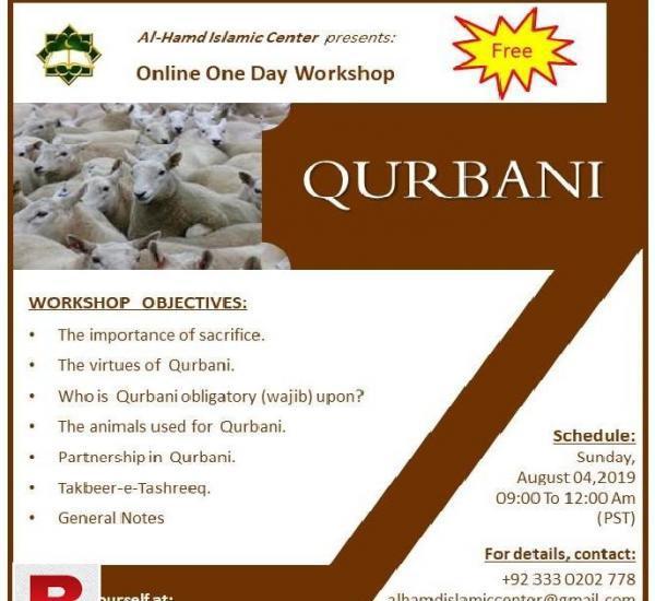 Fahme qurbani workshop