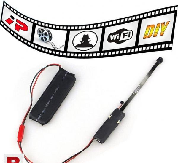 Mini camera spy hidden camera video wifi p2p id diy module