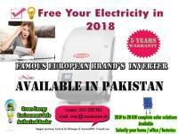 Free your electricity in 2018, karachi