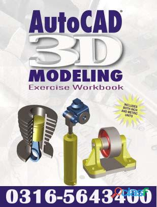 Autocad 3d distance learning diploma course in islamabad o3165643400