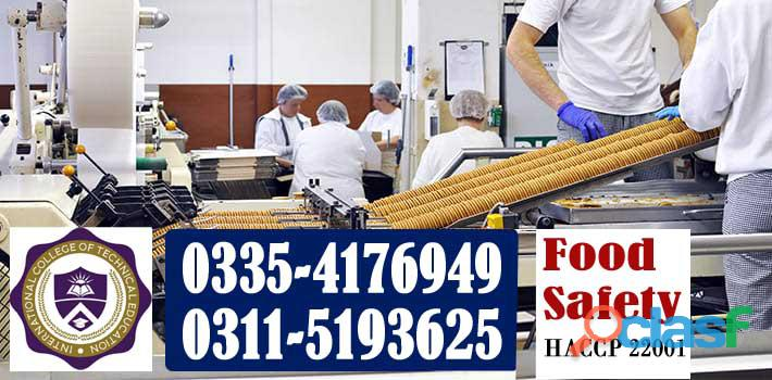 Food safety haccp 22001 course in rawalpindi gujranwala sialkot