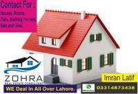 Get best houses for sale and rent in joher town 03314873438,