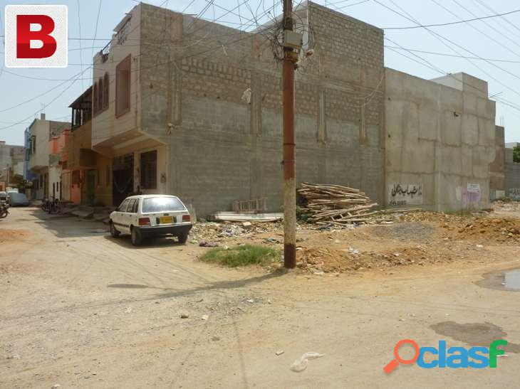 Commercial plot gulshan e iqbal block 11