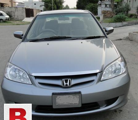 Honda civic 2005 vti oriel (sunroof)