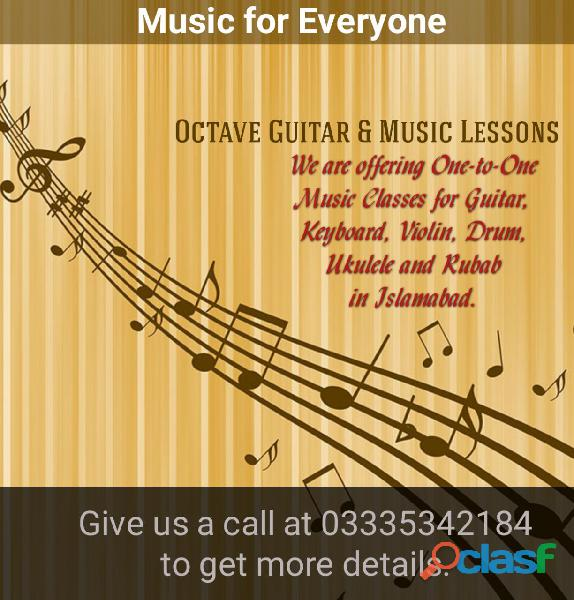 Guitar classes in islamabad