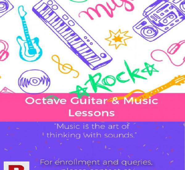 Home based guitar classes in islamabad