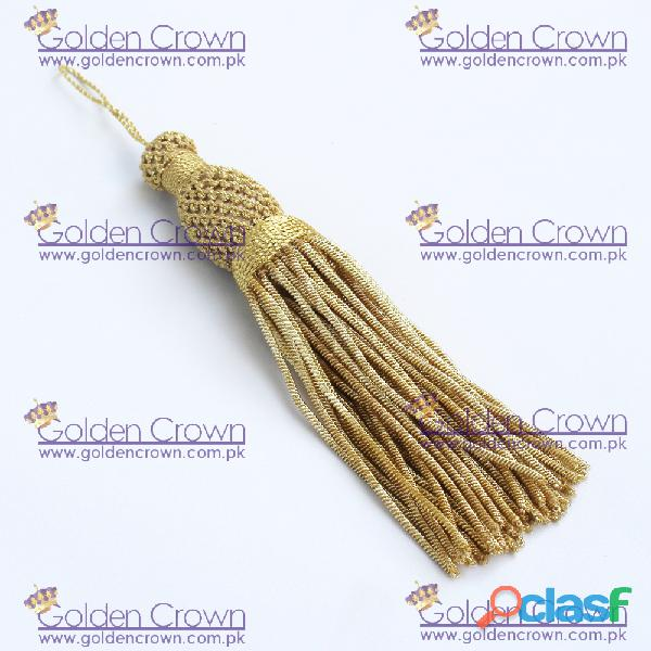 French Metallic Bullion Tassel