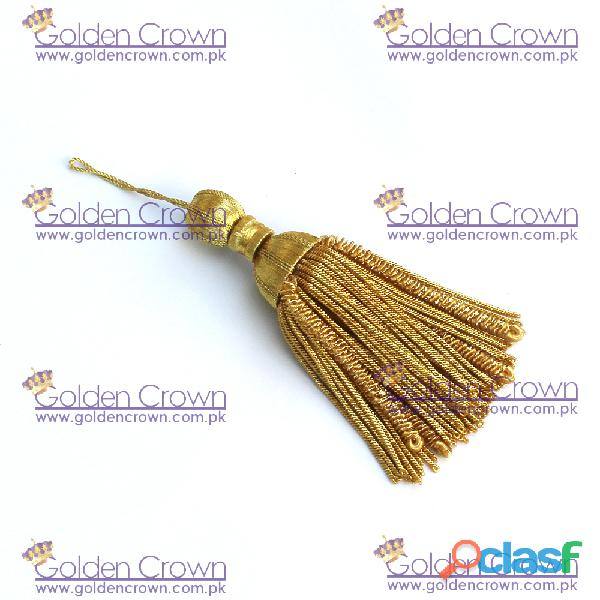 Gold Bullion Wire Decoration Tassel 0