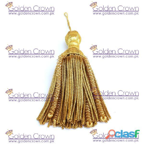 Gold Bullion Wire Decoration Tassel 2