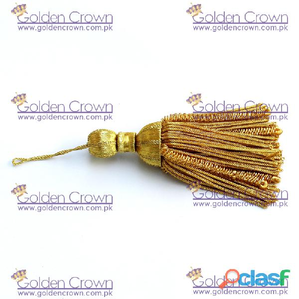 Gold Bullion Wire Decoration Tassel 3