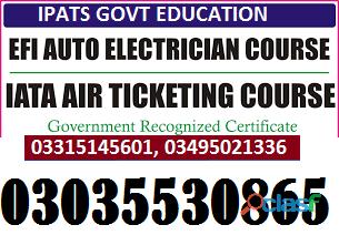 Efi auto electrician theory+practical course in rawalpindi islamabad kharian jhelum gujrat chakwal