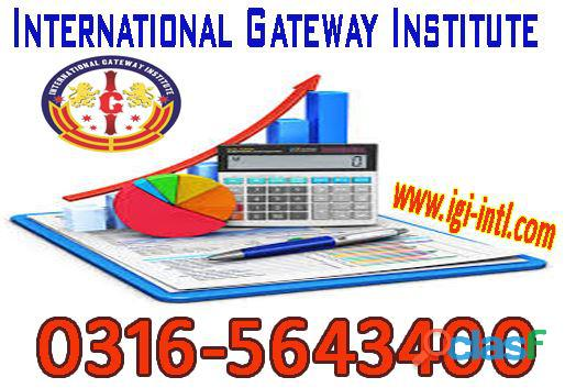Computerized Accounting Course in Islamabad 03165643400, 2