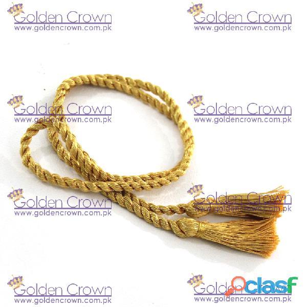 Metallic Gold Graduation Cord 3