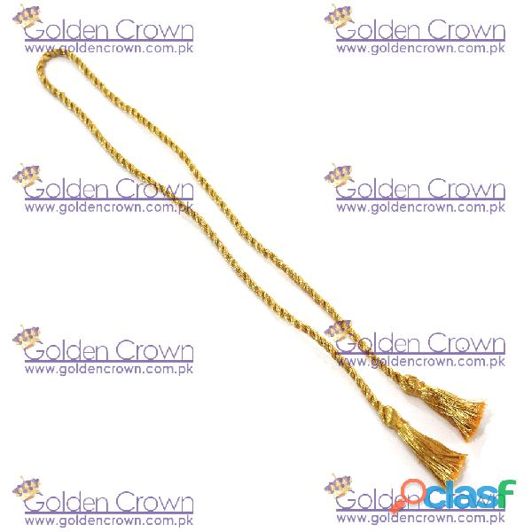 Metallic Gold Graduation Cord 4