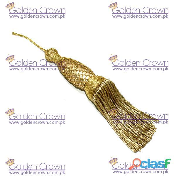 Hot sale gold bullion tassel for uniform