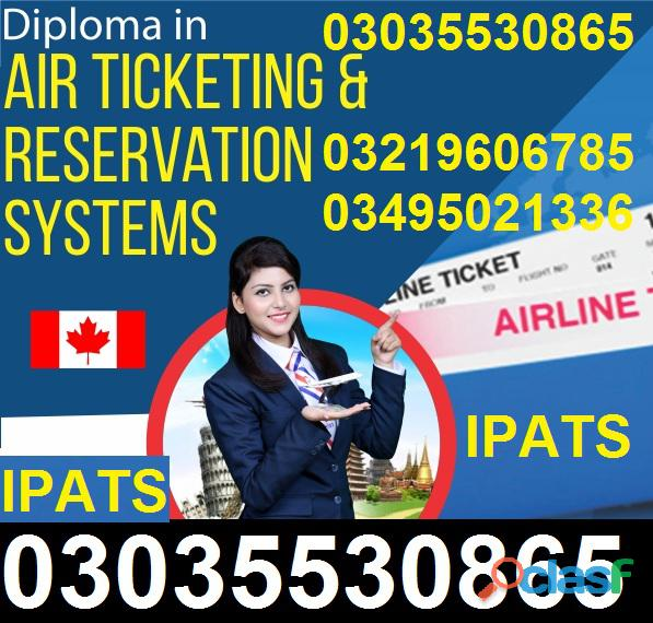 Air ticketing travel agency course in rawalpindi