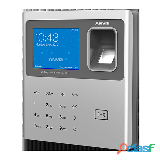 Time attendance machine (anviz w1)