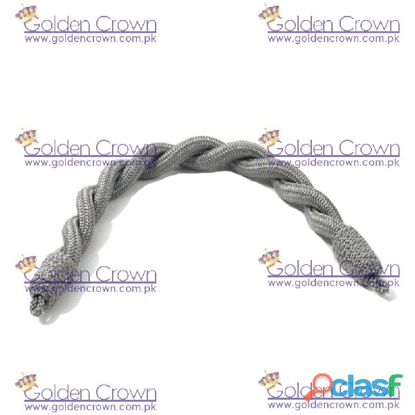 Military Officer Cap Cord Gray 2