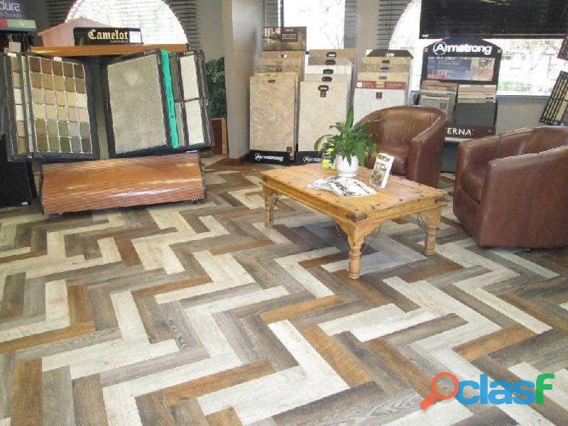 Vinyl and wood floors in Allama Iqbal Town, Lahore 1