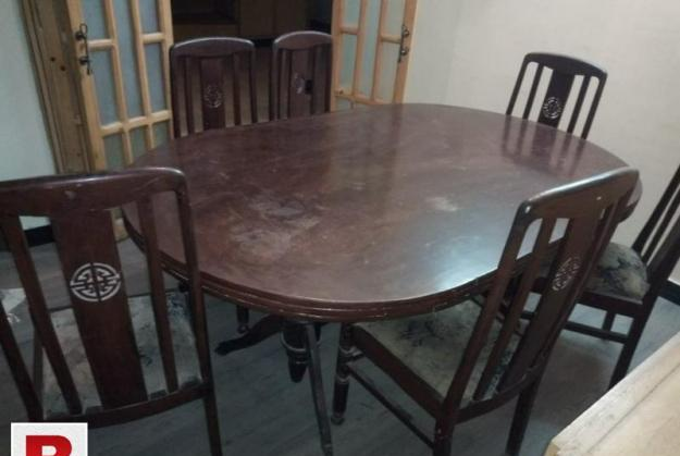 Dining table set (along-with 06 chairs)