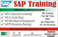 SAP FI/CO/MM/PP TRAINING AT YOUR HOME NOW, Karachi East