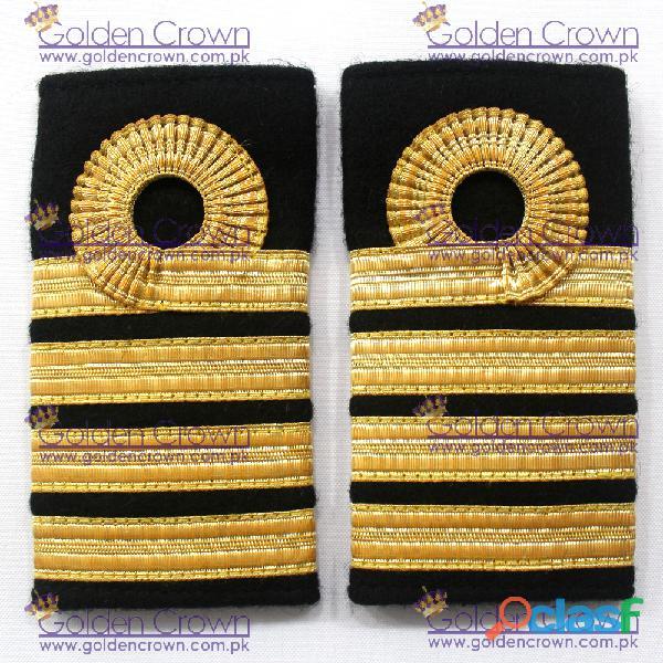 Navy Admiral shoulder straps, Navy Sub Lieutenant Loops