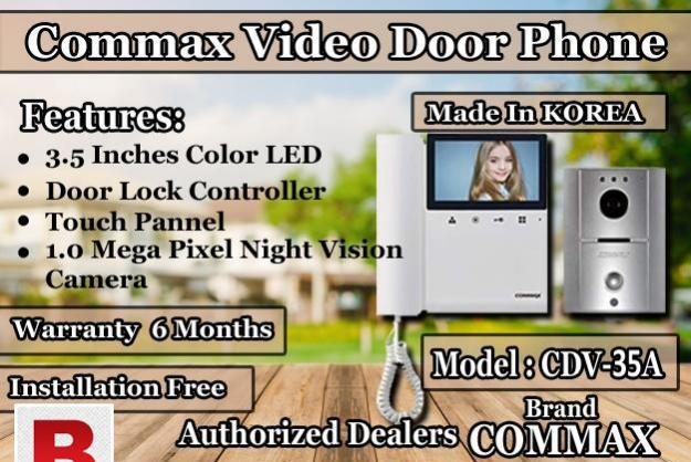 Commax video door phone cdv-35a is available in best pricea