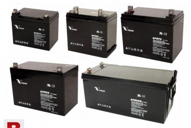 Vision battery sealed leadacid 12v 100ah